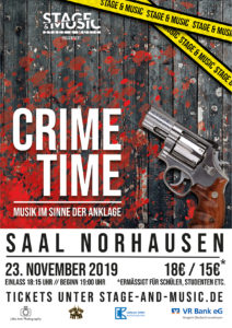Crime Time Musical @ Saal Norhausen